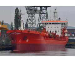 8550 DWT OIL-CHEMICAL TANKER STAINLESS