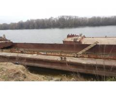 Bilge barge for transportation of grain, sand, alluvium, GP 120t for rent